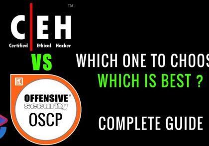 مقایسه CEH و OSCP