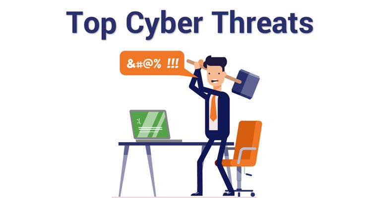 بزرگترین تهدیدهای امنیتی داده ها