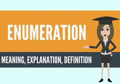 enumeration چیست