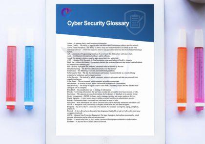واژه نامه امنیت سایبری