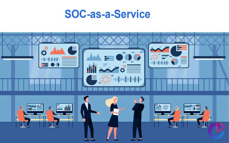 soc به عنوان سرویس